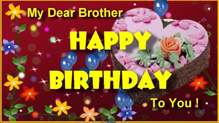 Happy Birthday Wishes For Brother 2017