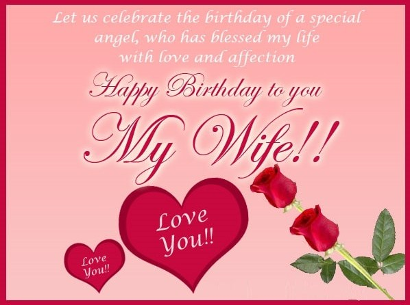 Romantic Birthday Wishes For Wife 2017