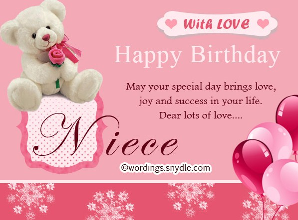 Awesome Birthday Wishes For Niece 2017