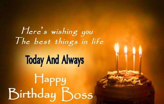 Special Birthday Wishes For Boss 2017
